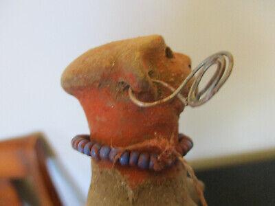 Vintage Primitive Columbian Mayan/Aztec Clay Mud Pottery Sculpture Figure Doll! 5