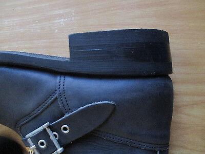 R15B Truka RG 1080 homme noir résistant à l/'huile Cuir//Textile à Lacets Bottes
