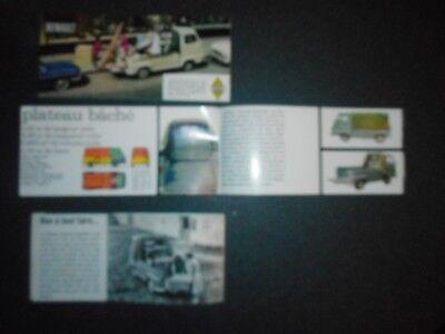3 catalogues   ESTAFETTE RENAULT originaux pas copie bon état 9