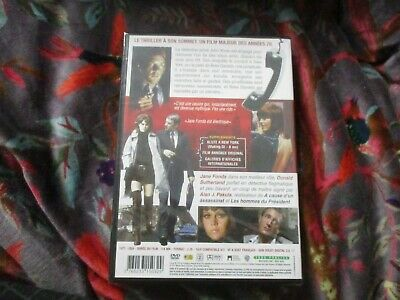 "RARE! DVD NEUF ""KLUTE"" Jane FONDA, Donald SUTHERLAND, Roy SCHEIDER / Alan PAKULA 2"