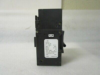 New Sensata Airpax Circuit Breaker 3 Pole 219-3-2600-441 600V HH83XB441-B