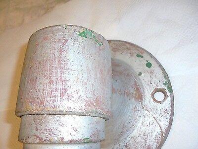 large cast metal sconce light bracket metal art decor railroad 10
