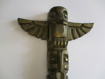 BRONZE INDIANER SKULPTUR mit BOGEN WESTERN ART STATUE NATIVE AMERICAN SCULPTURE