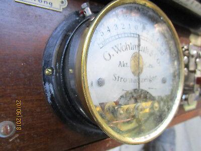Wohlmuth Reiz Fein Strom Apparat Polwender Elektro Galvanisch ca.1910 SELTEN!! 2