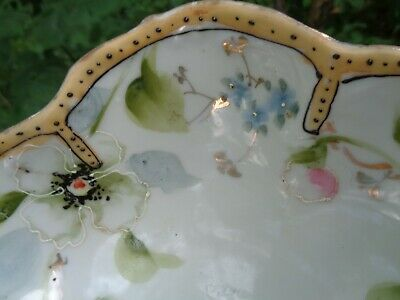 ANTIQUE EARLY Hand Painted MORIAGE Japanese PORCELAIN BOWL MADE IN JAPAN 2