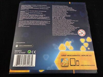 Lego Nexo Knights 25 Power Shields Collector Case 5004913 NEW SEALED