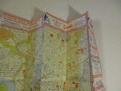 Vintage 1964 Holiday Inn Alexandria Virginia Hotel Travel Road Map Brochure-B2 6