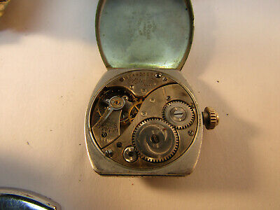 Three Unique Art Deco Elgin Watches From The 1920'S For Restoration Or Parts 10