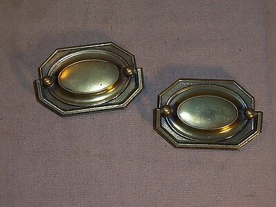 Antique Drawer Pull Handle Ornate Victorian Replacement Part Hardware Dresser 2