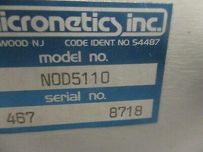 Micronetics Modèle: Nod 5110 Bruit Générateur < 3