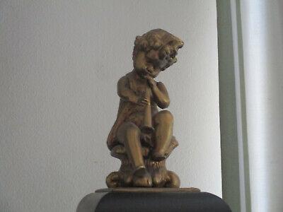 Vintage Franz Hermle Quarter Chiming Faux Boulle Pedestal Bracket Clock 8