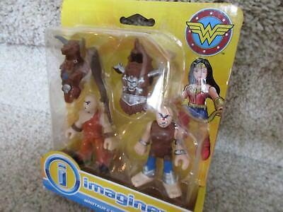 Imaginext Wonder Woman Minotaure /& Cyclope figurines Fisher-Price Chop