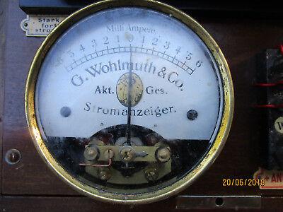 Wohlmuth Reiz Fein Strom Apparat Polwender Elektro Galvanisch ca.1910 SELTEN!! 4