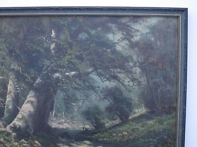 Antique 19Th To 20Th Century Painting Early California Landscape Vintage Mystery 5