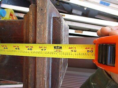 Newel Post Solid Wood 5