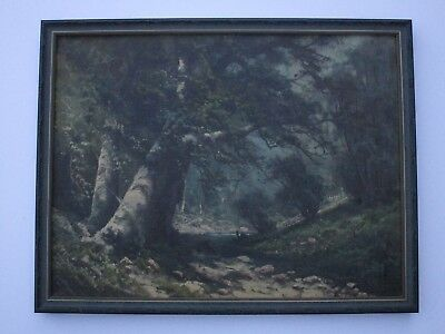 Antique 19Th To 20Th Century Painting Early California Landscape Vintage Mystery 2