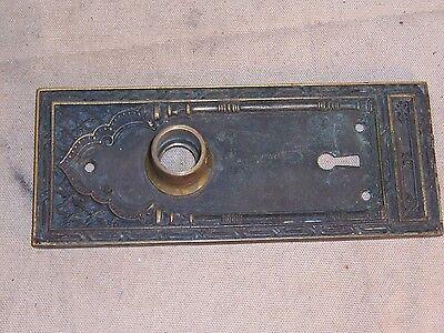 Antique Bronze Doorknob Medina Temple Building Chicago Architectural Hardware 3
