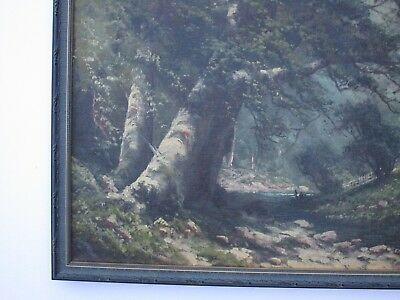 Antique 19Th To 20Th Century Painting Early California Landscape Vintage Mystery 7