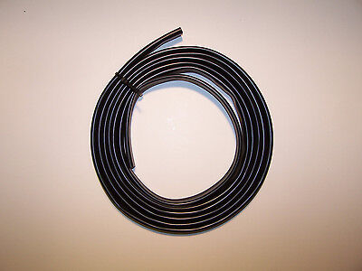 BLACK PVC SLEEVE WIRING HARNESS LOOM FLEXABLE WIRE COVER tube 2