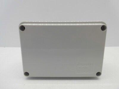 GEWISS GW44205 120x80x50mm ENCLOSURE JUNCTION BOX PLASTIC WATERPROOF IP56 GREY 2
