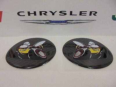 Challenger Charger Under Hood Beverage Delete Emblem Decal Scat Pack Bee Carbon 2