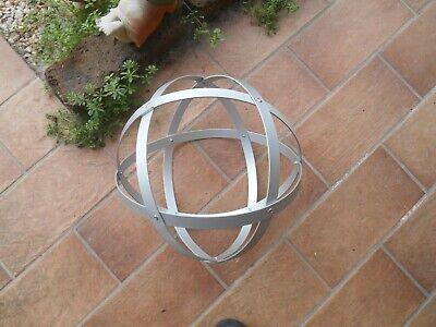 Genesa Crystal alluminio satinato diametro 30 cm 3