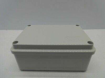 GEWISS GW44205 120x80x50mm ENCLOSURE JUNCTION BOX PLASTIC WATERPROOF IP56 GREY 3
