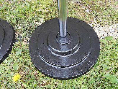 AntiqueVintage 20s30s Coat Racks Cast Iron Base Chrome Reconditioned STeAm PuNk! 6