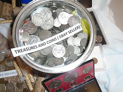 Estate  Lot Sale-Old Coins Gold Bullion .999 Silver Treasure Collection Hoard 3