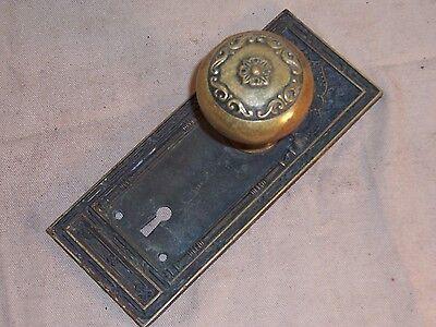 Antique Bronze Doorknob Medina Temple Building Chicago Architectural Hardware 2