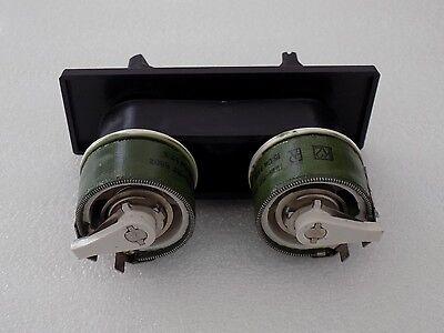 2x Vintage 80/'s TESLA Wire Wound 22 Ohm 2W Potentiometer WN69170 2WT101