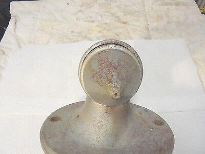 large cast metal sconce light bracket metal art decor railroad 6
