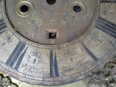 Richard Baker London CC 1685 William and Mary Period Dial 2