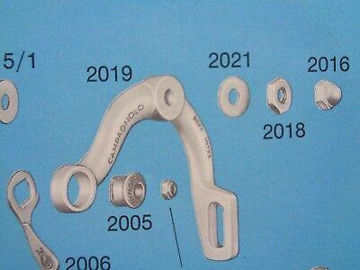 x4 * *NOS Vintage 1980s Campagnolo Super Record brake pad nuts upgrade