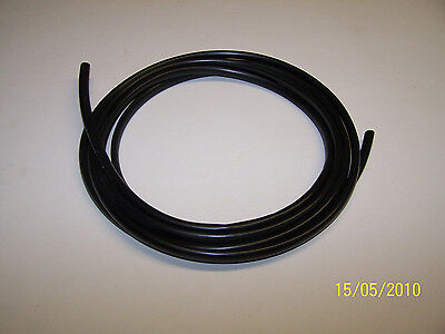 BLACK PVC SLEEVE WIRING HARNESS LOOM FLEXABLE WIRE COVER tube 4
