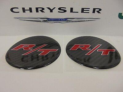Challenger Charger Under Hood Beverage Delete Emblem Decal Carbon Fiber R/T 2