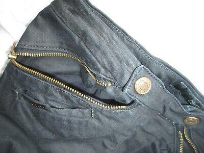 Calvin Klein Black Jeans Trousers Unusual Front Fastening Size 26 W28 L27 3