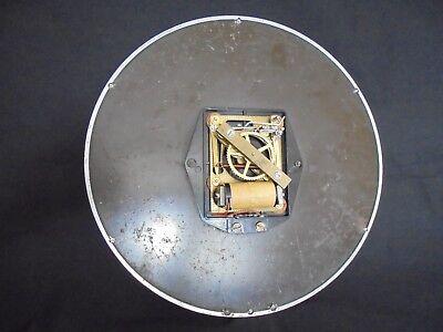 "Gents Of Leicester Industrial Cast Aluminium Wall Clock 13"" 8"