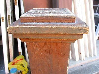 Newel Post Solid Wood 4