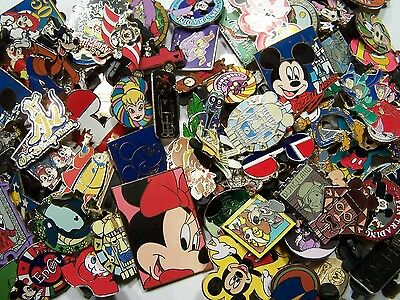 Disney Pin 200+2 Pins Free, Mixed Lot Fastest Ship 2 Usa 125-150 Different Wow 2