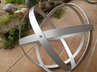 Genesa Crystal alluminio satinato diametro 30 cm 4