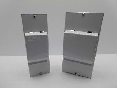 Esr Me2, Me4 2, 4 Ip40 Modular Metal Clad Enclosure Unit Din Rail Earth Bar 3