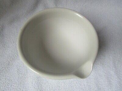 alter  Porzellan Salben-Mörser und Pistill Porzellanmörser Unguentum Salbe 3