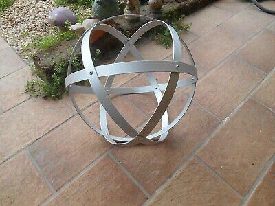 Genesa Crystal alluminio satinato diametro 30 cm 2