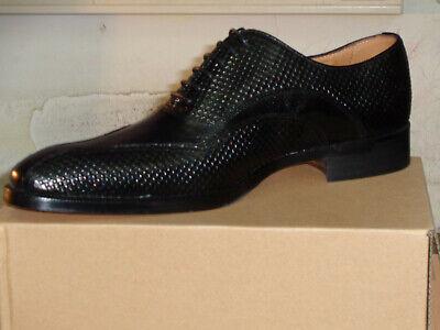 Herren schuhe MARIO ALBORINO SOLID //Elegante LEDER schuhe. Italian shoes