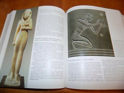 EGYPT THE WORLD OF THE PHARAOHS Ancient Egyptian Art Arts Artifacts History Book 3