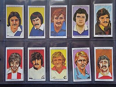 The Sun Soccercards 1978-79 (Vg) (Card 801 To 900) *please Choose Cards*