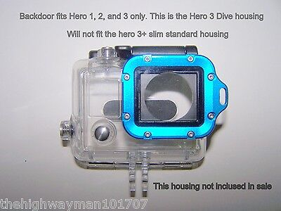 Genuine GoPro Waterproof LCD BacPac Expansion Battery Backdoor for Dive housing
