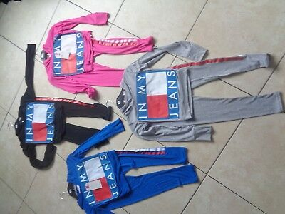 """Girls bundle age 13 mixed items clothes sport leggings hoodie top """"in my jeans"""" 2"""