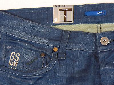 G STAR RAW 5204 Defend Super Slim W36 L34 Mens Blue